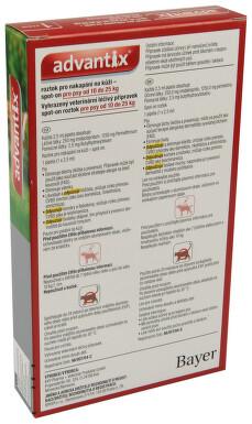 Advantix pro psy S-O 10-25kg a.u.v.1x2.5ml
