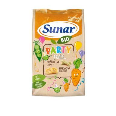 Sunar BIO křupky Party mix 45g