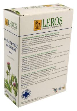 LEROS Ostropestřec mariánský plod 150g sypaný