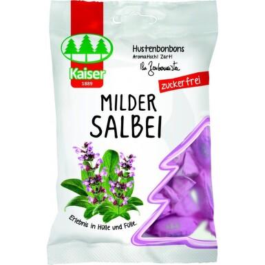 Kaiser Šalvějové bonbóny bez cukru 75g
