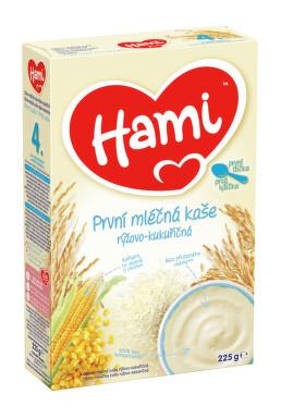 Hami kaše ml.rýžovo-kukuř. první 225g