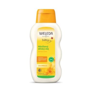 WELEDA Měsíčkový dětský olej 200ml