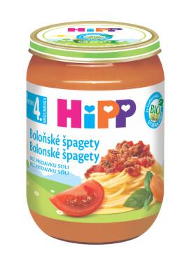 HiPP BABY BIO Zelenina s těst.a šunkou.190g