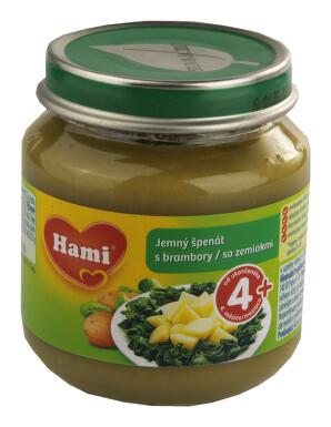 Hami příkrm jemný špenát s brambory 125g 4M