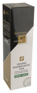 CutisHelp SENSI-BASE konopná micel.gel.voda 200ml