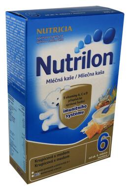 Nutrilon kaše Pronutra krupic. s medem ml. 225g 6M