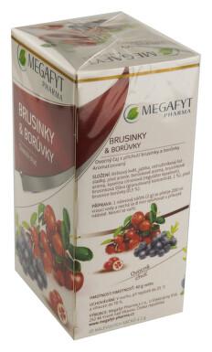 Megafyt Ovocný Brusinky & borůvky 20x2g