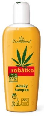 Cannaderm Robátko dětský šampon 150ml