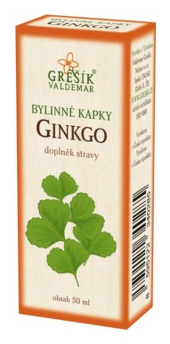 Grešík kapky Ginkgo 50 ml