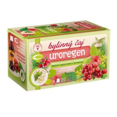 TOPVET čaj bylinný s brusinkou Uroregen 20x1.5g