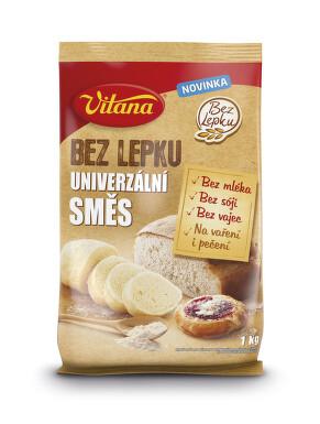 Bez lepku Univerzální směs Vitana 1kg