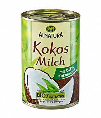 Alnatura Kokosové mléko 400ml