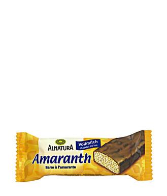 Alnatura Amarantová tyčinka s hořkou čokoládou 25g