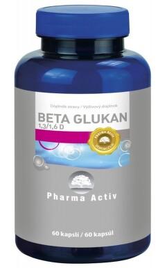Beta Glukan 1.3/1.6 D cps.60x250mg