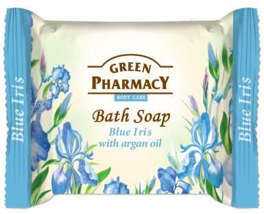 Mýdlo Modrý Iris s arganovým olejem 100g