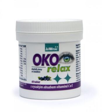 OKO RELAX 60 tablet pro normální stav zraku