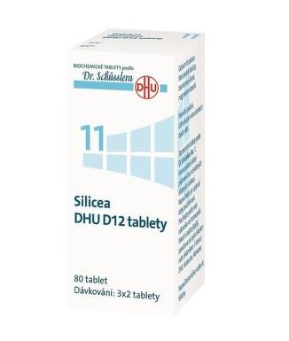SILICEA DHU D5-D30 neobalené tablety 80