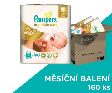 Pampers Premium Care Monthly Box S2 160