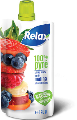 RELAX PYRÉ 100% Malina 120g