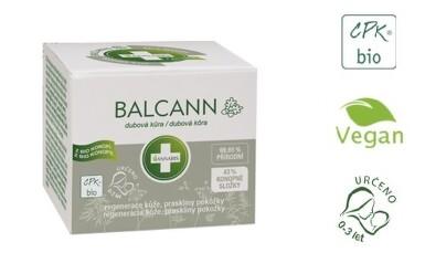 Balcann dubová kůra přírodní konopná mast 15ml