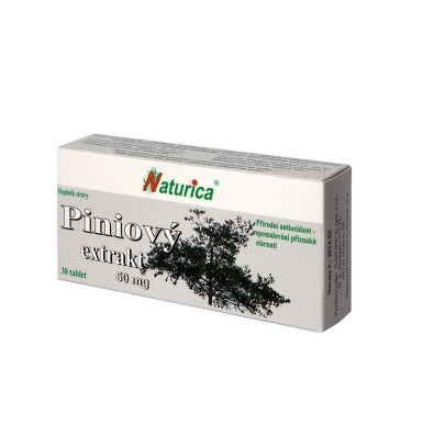 NATURICA Piniový extrakt 50mg tbl.30