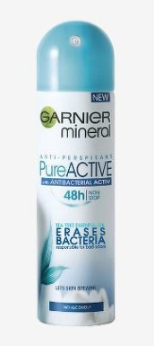 GARNIER DEO Mineral Pure Active Antipersp. 150ml