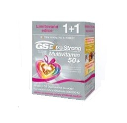 GS Extra Strong Multivitamin 50+ tbl.60+60 d.2017