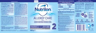 NUTRILON 2 ALLERGY CARE perorální SOL 1X450G