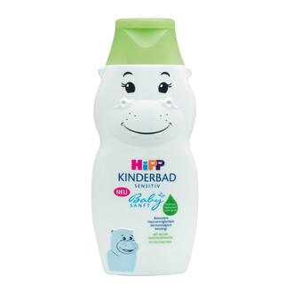HiPP BABYSANFT Dětská koupel Hroch 300ml