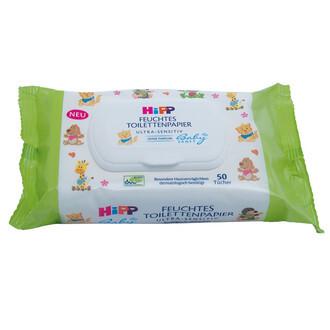 HiPP BABYSANFT Vlhčený toaletní papír 50ks