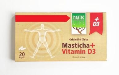Masticlife Chios Masticha+ D3 cps.20