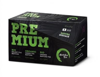 Matcha Premium BIO jemně mletý zelený čaj 20x1.5g