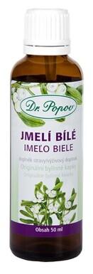 Dr.Popov Kapky bylinné Jmelí bílé 50ml