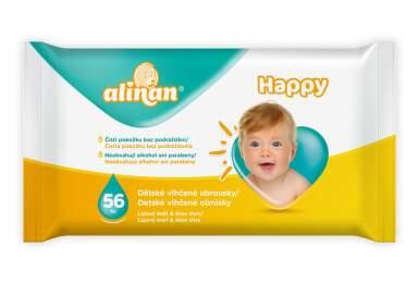 Alinan Happy wet wipes CZ_SZ