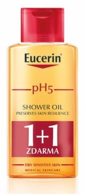 EUCERIN pH5 Relipidační sprchový olej 200ml 1+1