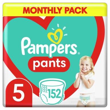 Pampers kalhotkové plenky Monthly Box S5 152ks