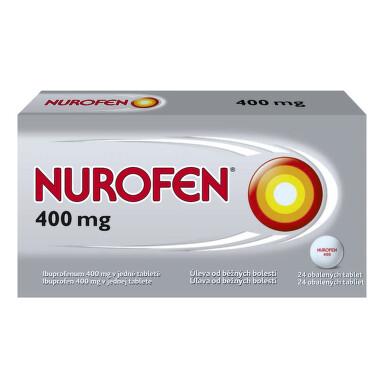 NUROFEN 400 MG perorální obalené tablety 24X400MG