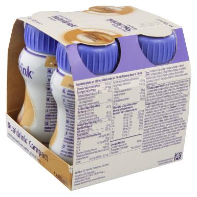 NUTRIDRINK COMPACT S PŘÍCHUTÍ KÁVY perorální roztok 4X125ML