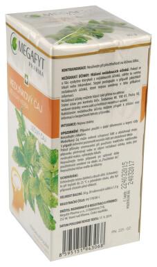 MEDUŇKOVÝ ČAJ perorální léčivý čaj 20 I
