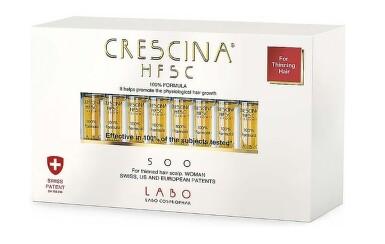 Crescina HFSC 100% 500 WOMAN 20x3.5ml
