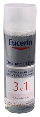 EUCERIN DermatoCLEAN Micelár. voda 3v1 200ml 63997