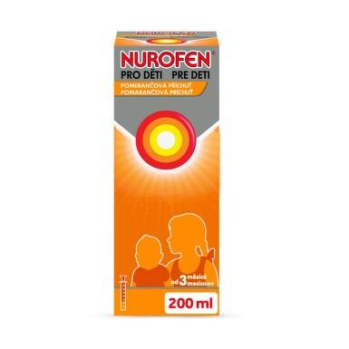 NUROFEN PRO DĚTI 20MG/ML perorální SUS 200ML II