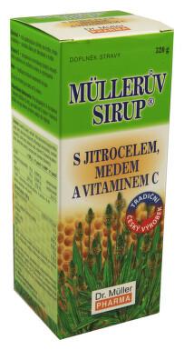 Müllerův sirup s jitrocelem medem a vit.C 320g