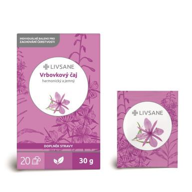 LIVSANE Čaj vrbovkový 20 sáčků
