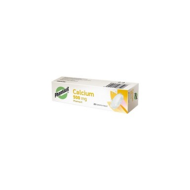 CALCIUM PHARMAVIT 500MG šumivá tableta 20