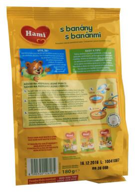 Hami kaše rýžová s banány neml. 180g 4M