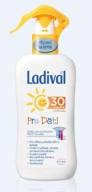 LADIVAL OF30 sprej ochrana proti slunci děti 200ml