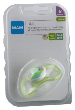 MAM Dudlík Air 6+měsíců silikon 1ks