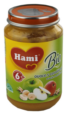 Hami svačinka BIO ovoce s cereáliemi 190g 8M