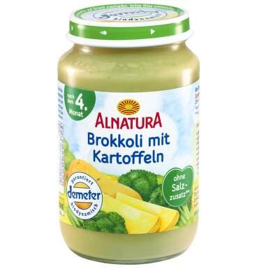 Alnatura Brokolice s bramborem 190g